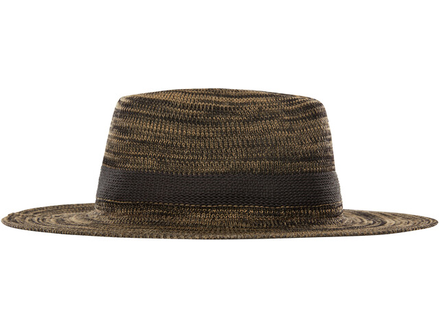 The North Face Packable Panama Hat Women kelp tan/TNF black marl